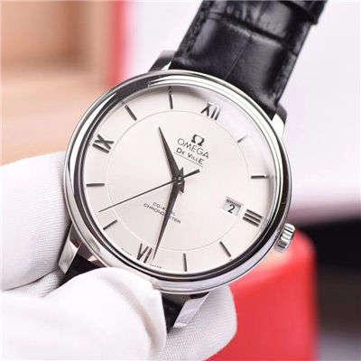 【MK厂一比一精仿手表】欧米茄碟飞系列 424.10.37.20.02.001 男士机械腕表