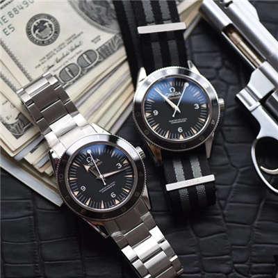 【VS厂顶级复刻手表】欧米茄海马系列占士邦007特别版之幽灵党 233.32.41.21.01.001腕表