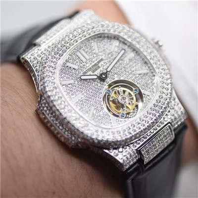 R8出品:新款PATEK PHILIPPE(百达翡丽)这款豪华百达翡丽满天星陀飞轮腕表