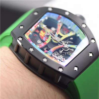 【RM一比一超A高仿手表】;理查德米勒RICHARD MILLE男士系列RM 68-01 KONGO腕表