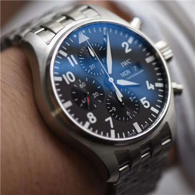 【ZF厂一比一精仿手表】万国飞行员CHRONOGRAPH计时腕表 系列IW377710腕表