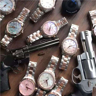 【HBBV6厂1:1顶级复刻手表】欧米茄海马系列231.20.30.20.06.003女装手表