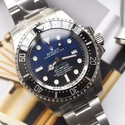 劳力士海使型系列m126660-0002腕表【台湾厂高仿手表劳力士渐变蓝】
