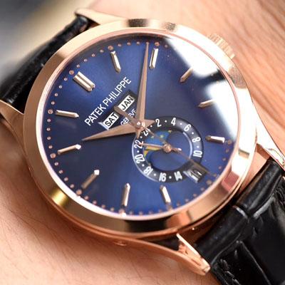【台湾厂一比一超A高仿手表】百达翡丽复杂功能计时系列5396R-014腕表