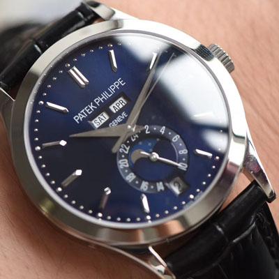【台湾厂1:1高仿手表】百达翡丽复杂功能计时系列5396G-014男表价格报价