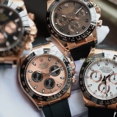 【AR一比一超A高仿手表】劳力士ROLEX宇宙计型迪通拿系列116515LN-L(FC) 咖啡色腕表