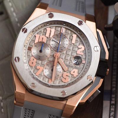 【视频评测JF厂一比一精仿手表】爱彼AP皇家橡树离岸型詹姆斯签名特别版26210OI.OO.A109CR.01腕表
