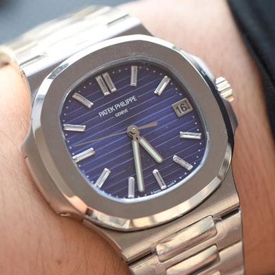 【PF一比一超A高仿手表】百达翡丽Nautilus系列 四十周年纪念腕表5711/1P-001价格报价