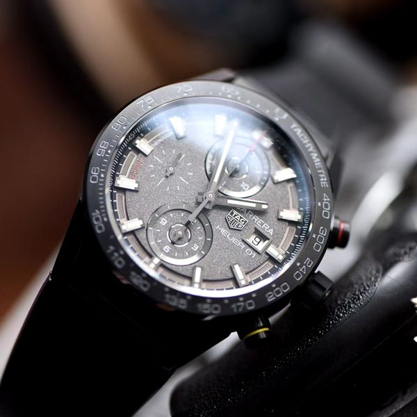 XF厂新品力作泰格豪雅卡莱拉月球表面CAR201J.FT6087腕表