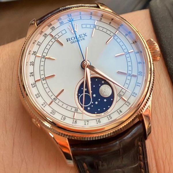 KZ厂顶级复刻手表劳力士超级切利尼m50535-0002腕表